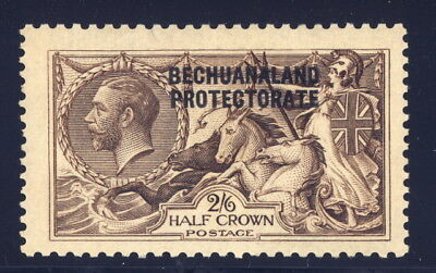 Bechuanaland Protectorate 92 - mlh 2/6 half crown sea horse - George V