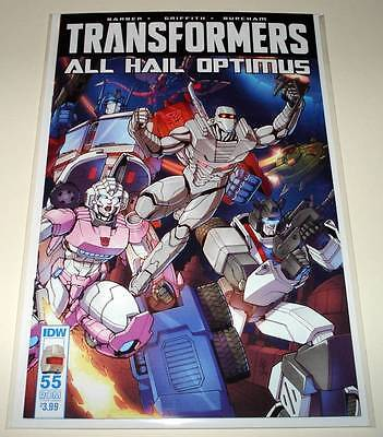 TRANSFORMERS # 55  IDW Comic  July 2016  NM   ROM VARIANT COVER EDITION