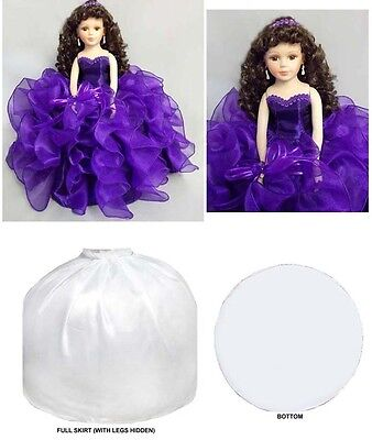 "16"" Princess  Quinceanera - Sweet 16 -  Porcelain Dolls - Purple (EQacDoll)"