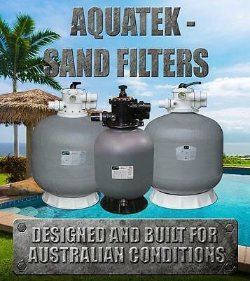 "Aquatek 25"" Fibreglass Swimming Pool Sand Filter - 25 INCH MODEL"