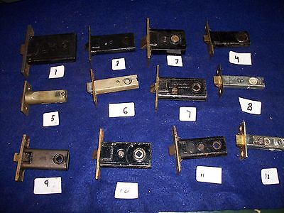 Old-Vintage - Antique -Full Mortise Latch (Passage) Lock Bolts -Choice Of One.