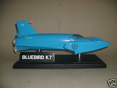 Bluebird K7 Donald Campbell Wood Model