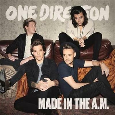 ONE DIRECTION Made In The A.M. DELUXE EDITION CD NEW sealed release 13/11/2015