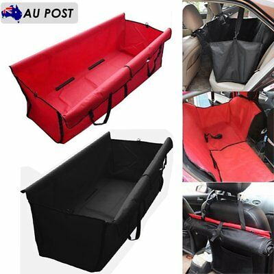 Car Rear Back Seat Waterproof Cover Pet Dog Safety Mat Protector Hammock NEW