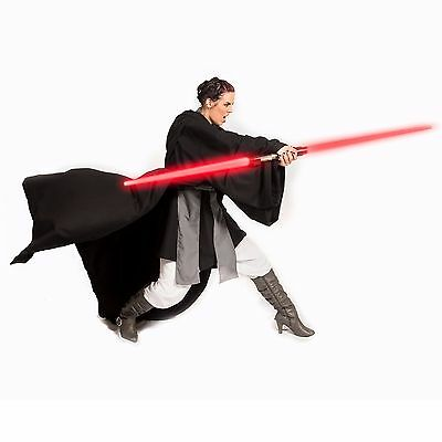 Sith Lord Cosplay Costume Jedi Knight Custom Robe Star Wars Halloween Tunic men