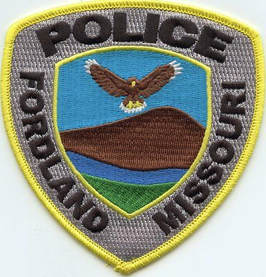 Fordland Missouri Mo Police Patch