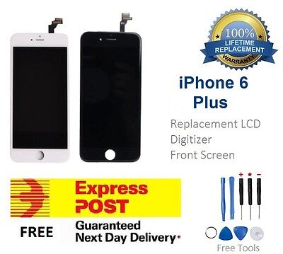 For iPhone 6 Plus LCD Replacement Touch Screen Digitizer Display Black White