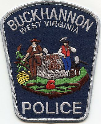 Buckhannon West Virginia Wv Police Patch