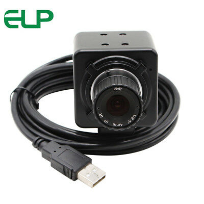 8MP USB Electronic Camera Eyepiece F Microscope Telescope 6mm Manual Focus Lens