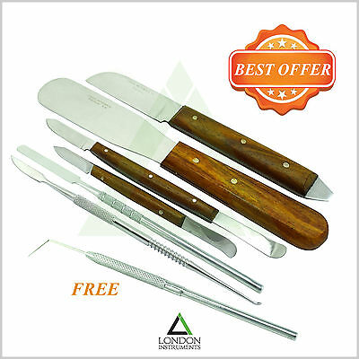 Dental Fahen Stock Knife Waxing & Modelling Carvers Laboratory Instruments New