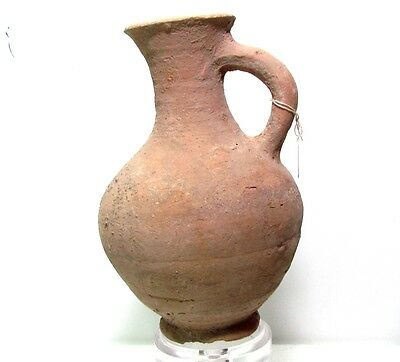 ancient pottery of the holy land terra cotta jug-time of Moses p1848
