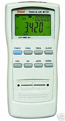 Handheld bridge LCR Meter 0.3% accuracy 0.1% TH2821B 0.01% 100Hz 120Hz 1K L-Q