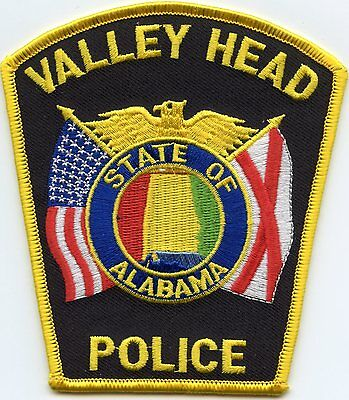 Valley Head Alabama Al Police Patch
