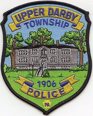 Upper Darby Township Pennsylvania Pa Police Patch