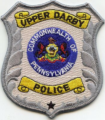 Upper Darby Pennsylvania Pa Police Patch