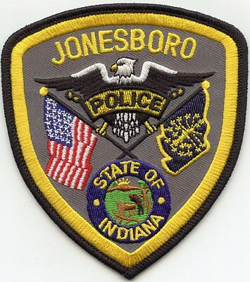 Jonesboro Indiana In Police Patch