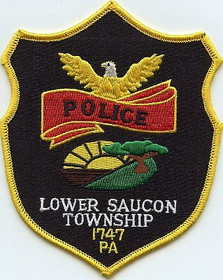 Lower Saucon Township Pennsylvania Pa Police Patch