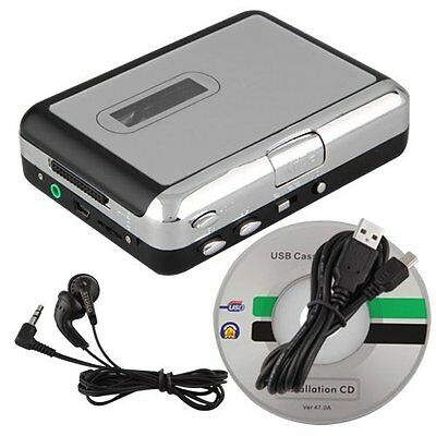 Sunny Mini USB Audio Cassette Tape Converter to MP3 CD Player PC