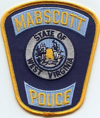 Mabscott West Virginia Wv Police Patch