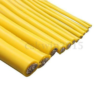 Yellow 1M/2M 8/10/12/14/16/18/20/22/24/26/28/30 AWG Silicone SR Wire Cable