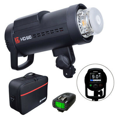 Jinbei HD-610 600W TTL HSS Outdoor Strobe Flash + TR-611 Transmitter for Canon