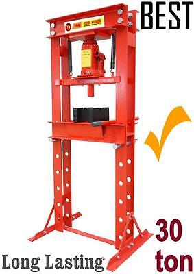 Press 30 ton Hydraulic Type with wide gap between rack = Trade Type