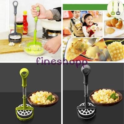 Fruit Ricer Potato Masher Pressure Machine Crusher Squeezer Kitchen Gadgets FI