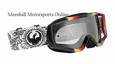 Dragon vendetta offroad motorcross goggles Tedesco 2 clear adults