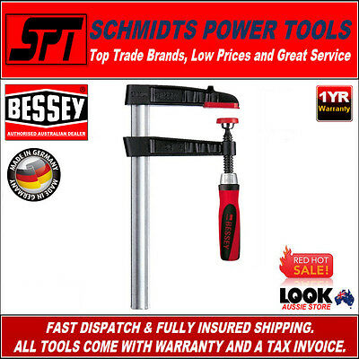 BESSEY TG30S12-2K TG SERIES PROFESSIONAL F CLAMP 300mm x 120mm WOODWORKING