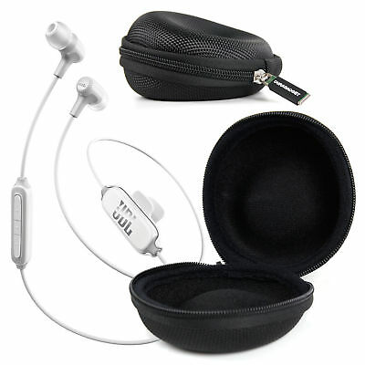 Protective Hard Shell Case in Classic Black for JBL E15 / E25BT Earphones