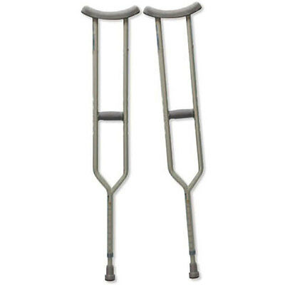 Bariatric Heavy-Duty Tall Crutches, Adult Part No. CA801TLB Qty 1 Pair