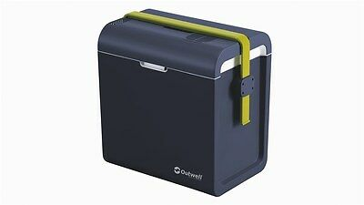 Outwell Ecocool 24 ltr Coolbox 12v & AND 230v - CAMPING COOL BOX - Blue