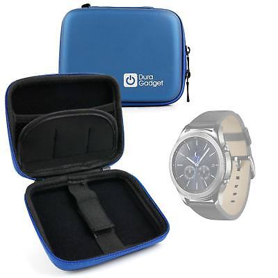 Hardwearing Blue Storage Case With Soft Lining for Samsung Gear 3 Smartwatch