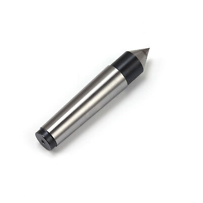 MT3 Fixed Dead Carbide Head Lathe 60 Degrees Point Center Bearing Morse Taper