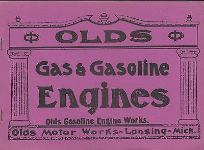 Olds Gas & Gasoline Engines catalogue sizes 3 to 50 igniter ignition reprint