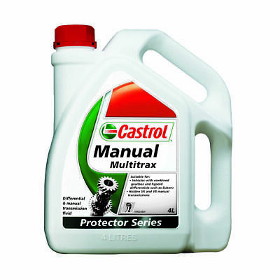 Castrol Multitrax Transaxle & Manual Transmission Fluid - 4 Litre