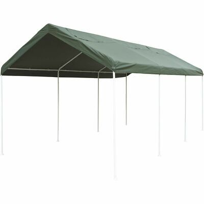 CoverALL Carport Replacement Tarp - Deluxe, Green, 3 x 6m