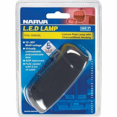 NARVA Licence Plate Lamp - LED, White, 10-30V