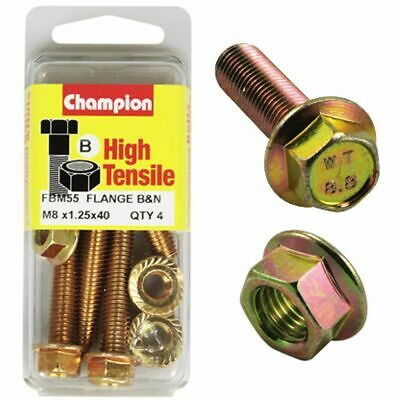 Champion Flange Bolts - M8x40, High Tensile