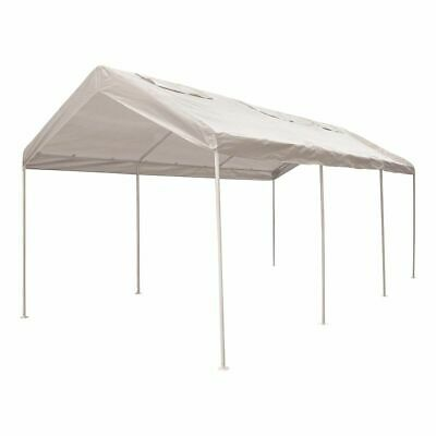 CoverALL Carport Replacement Tarp - 3 x 6m, White