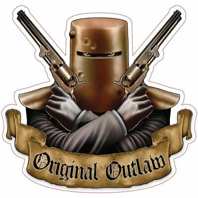 Hot Stuff Sticker - Ned Kelly Original Outlaw, Vinyl