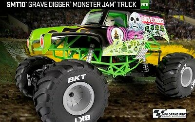 Axial SMT10 Grave Digger Monster Jam 4WD 1:10 RTR AX90055