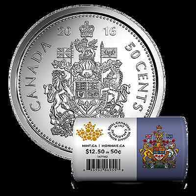 2016 Canada Half Dollar 50 Cent Coin Uncirculated  *Buy more SAVE MORE*