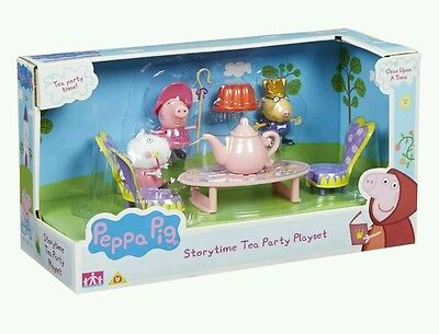 Peppa Pig Once Upon A Time Storytime Tea Party Toy Playset & Figures