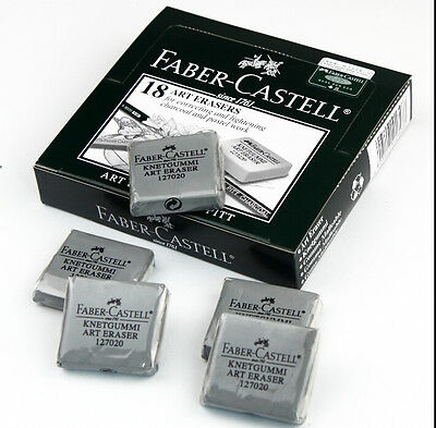 4 pcs Faber-Castell Kneaded Rubber Art Eraser  Pencil Pastel