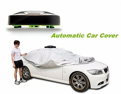 Automatic Car Cover Retractable Electric Car Cover Car Shelter Fits Sedan & SUV