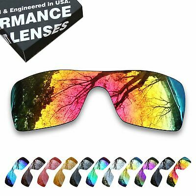 T.A.N Polarized Lens Replacement for-Oakley Batwolf Sunglasses-Multiple Options