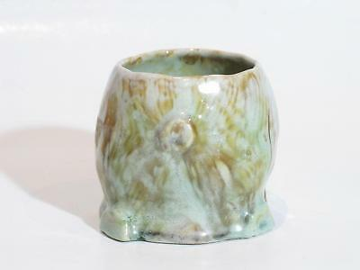 Christine Audrey Pecket Stump Vase, 1944. Australian Pottery. Excellent