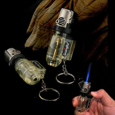 Coupe-vent Jet flamme Torche Rechargeable Briquet Butane Gaz Cigarette Lighter