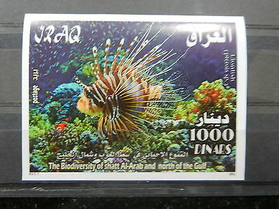 Iraq 2011 SS MNH Coral reef and Fish in the Arabian Gulf